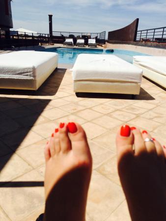 Hotel Fashion: Hier la terrasse pour moi toute seule