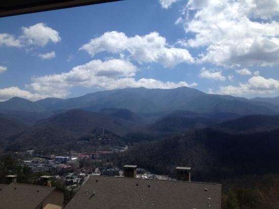 The Highlands Condominium: View from room 305