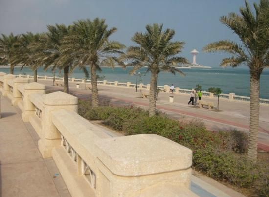 Corniche: View from the walking/jogging path