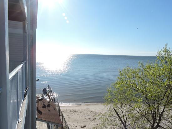 Chesapeake Beach Resort and Spa : View from our balcony room