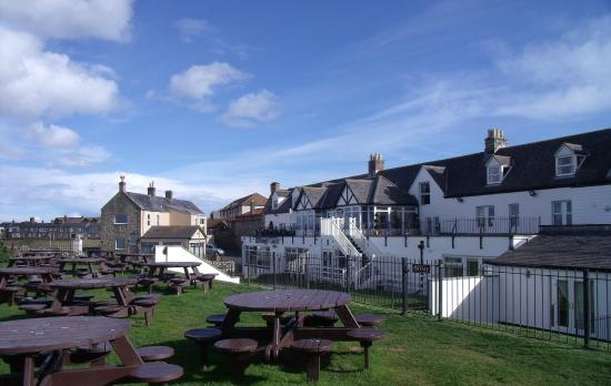 The Bamburgh Castle Inn Hotel From Beer Garden