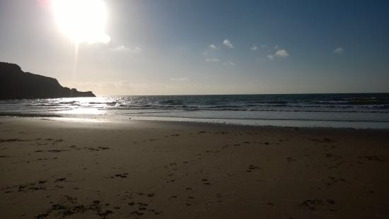 Devon Cliffs Holiday Park - Haven: a lovely beach