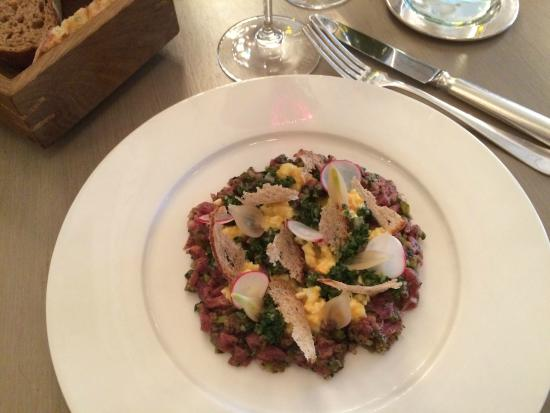 Beef tartare with a twist