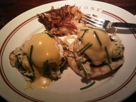 Redstone American Grill  Delicious eggs benedictGreat Friends  Great Food  Great Restaurant    Picture of Redstone  . Good Breakfast Places In Oak Brook Il. Home Design Ideas