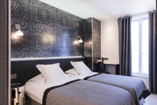 Double room picture of moderne st germain hotel paris for Hotel moderne paris