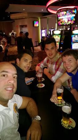 Visão do Bar no Holland Casino Amsterdam