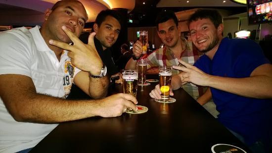 Eu e os brothers no Holland Casino Amsterdam