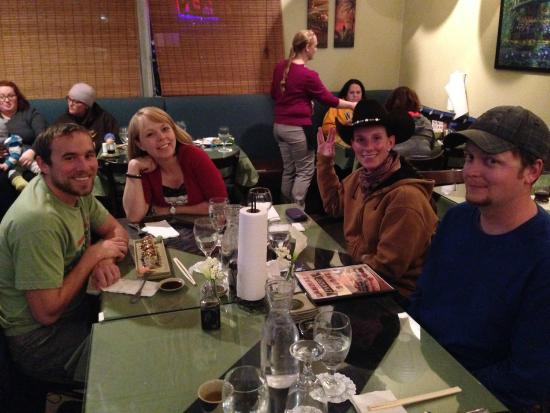 Great dinner with the kids at zanmai picture of for Asian cuisine lander wy