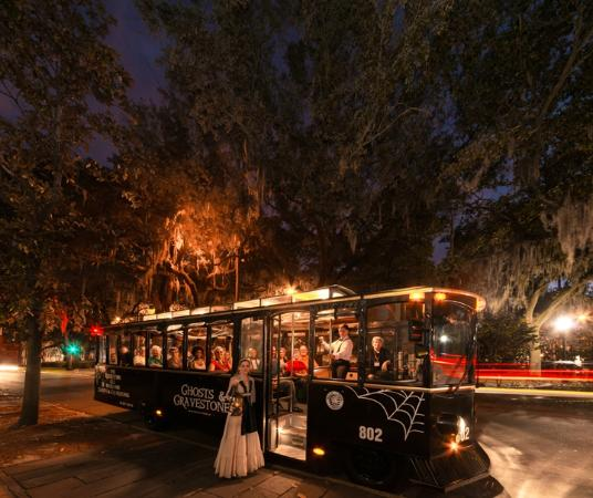 Ghosts and Gravestones of Savannah