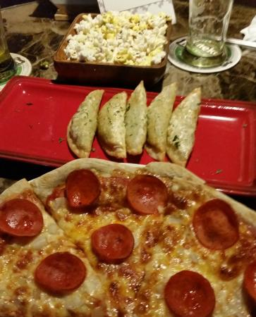 The Jet Lagged Lizard: Pizza, Dumplings and Popcorn