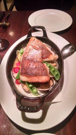 Kamekichi: Crispy Skin Salmon with Clams