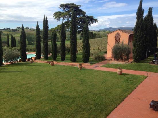 Agriturismo Santo Pietro: Vue de la chambre triple avec mezzanine