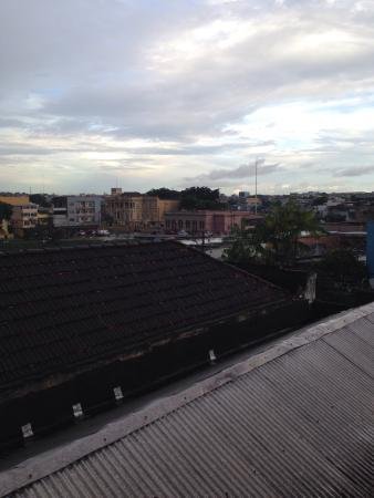 Hostel Manaus: View from the rooftop deck!