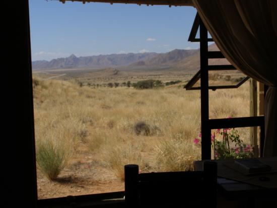 Barchan Dune Retreat: View from the window