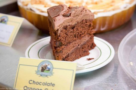 Wellington Farm Cafe & Tearooms: Chocolate Orange Cake