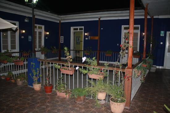 Hostal La Casona de Jerusalén: jardin