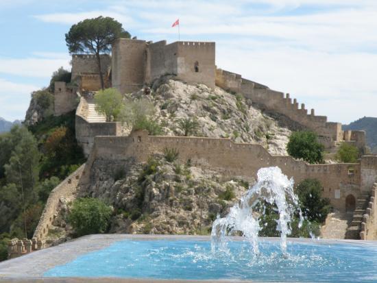 Castle photo de castell de xativa xativa tripadvisor for Hotels xativa espagne