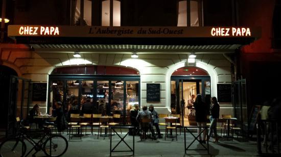 chez papa paris 138 boulevard du montparnasse saint germain des pr s restaurant reviews. Black Bedroom Furniture Sets. Home Design Ideas