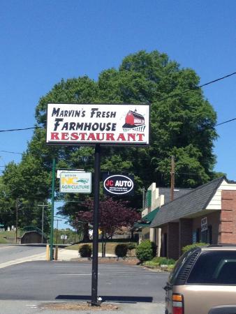 Marvin S Fresh Farmhouse Restaurant Menu