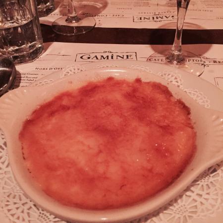 Gamine: Amazing crème brûlée!