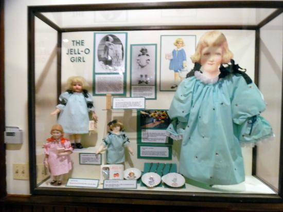 Jell-O Gallery Museum: Jello girl