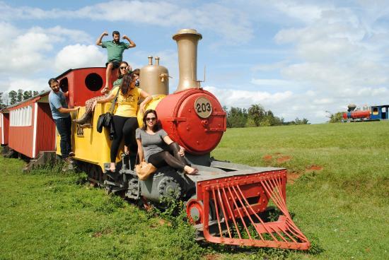 Gravatai, RS: locomotiva antiga