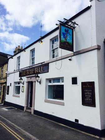 Corbridge, UK: The Blue Bell New signage after Refurbishment