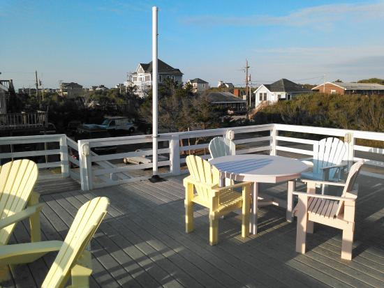 Cape Hatteras Bed and Breakfast: Deck