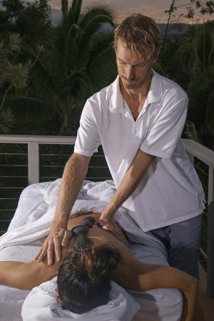 Paia, ฮาวาย: Massage in action
