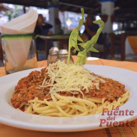 La Fuente Del Puente: Espagueti