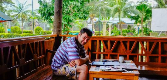 Villa Paraiso Resort & Apartelle: Free cofee