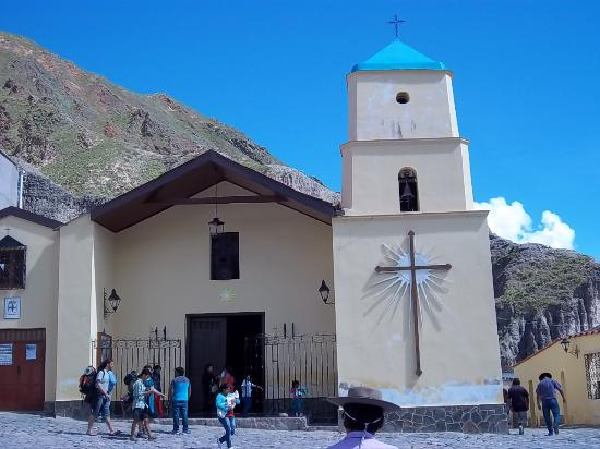 La iglesia catolica de Iruya