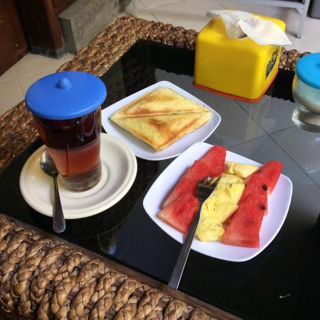 Letos Kubu : Завтрак