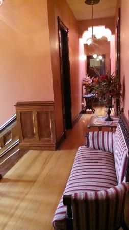 Whiskey Mansion Bed & Breakfast: View down the hall