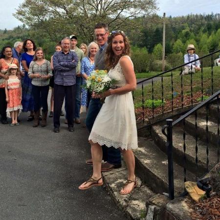 Pines Country Inn : Happy couple
