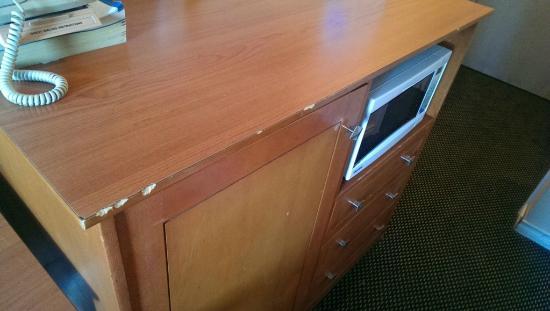 Sunrise Motel : Desk