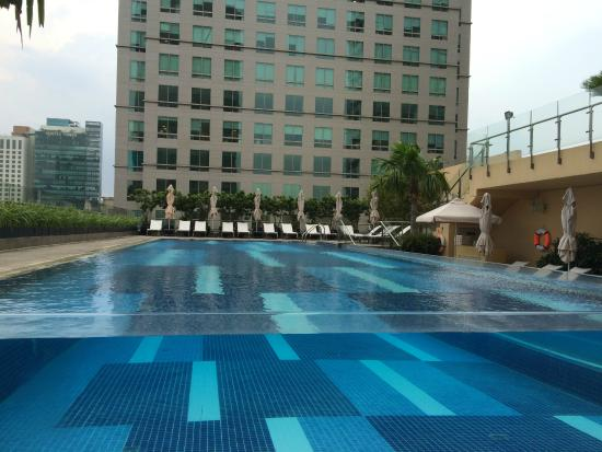 Pool Picture Of Intercontinental Saigon Hotel Ho Chi Minh City Tripadvisor