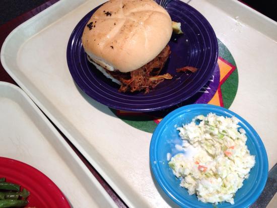 Tamarack: Giant pulled pork sandwich