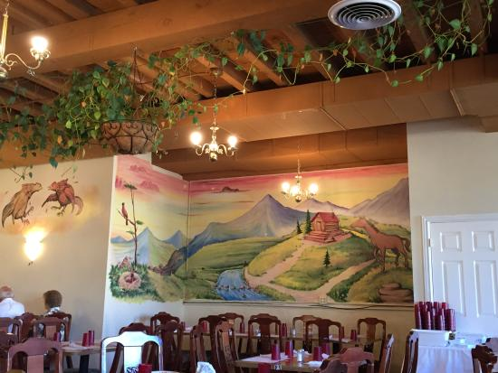 Mural picture of mi rancherito mexican restaurant for Mural restaurant