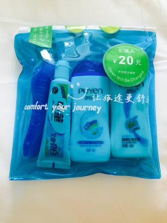 Zhangjiajie Sunshine Hotel: SHMPOO and Conditioner for sale  ! !