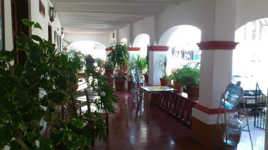 Hotel Posada Santa Anita: Área común