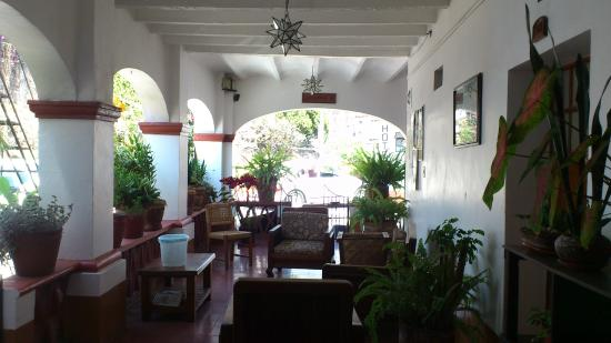 Hotel Posada Santa Anita: Área común de descanso