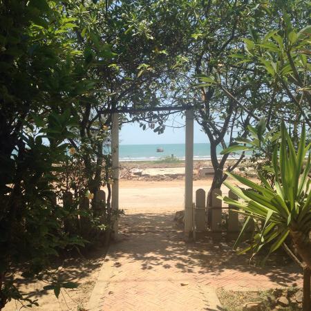Preeburan Resort : ตรงข้ามที่พักมองเห็นวิวทะเล