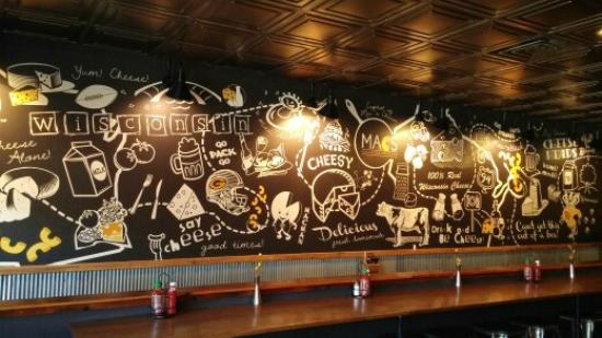 Wall art - Picture of MACS- Macaroni and Cheese Shop, Wisconsin ...