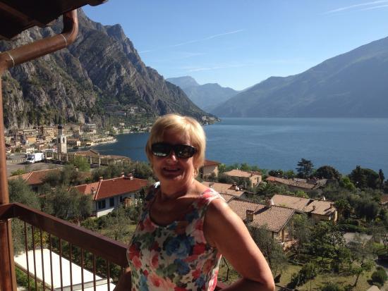 Hotel Ilma: Vue sur le lac depuis le balcon de la chambre