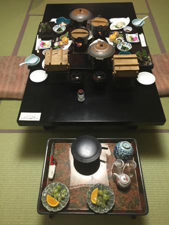 Hotel Taisetsu : Incredible Vegetarian Kaiseki Dinner