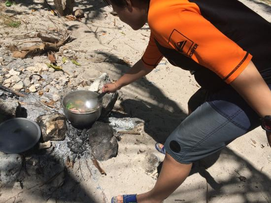 Sarangani Province, Filippinerna: Fish Soup