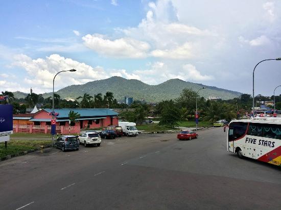 View Of Lambak From Bus Terminal Picture Of Gunung Lambak Kluang Tripadvisor