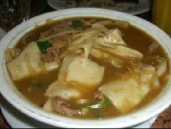 Momos Tibetan Restaurant: Thentuk - Tibetan meaning hand stretched noodles