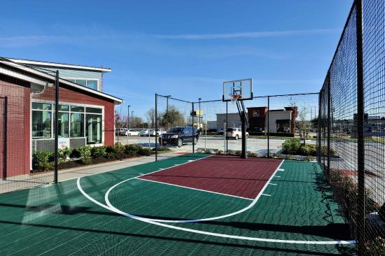 Our Basketball Court Helps Make Us One Of The Top Hotels In Cypress Tx Picture Of Residence Inn Houston Northwest Cypress Houston Tripadvisor